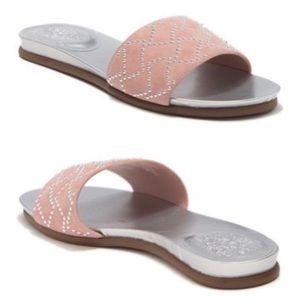 NWT Vince Camuto studded slide sandals